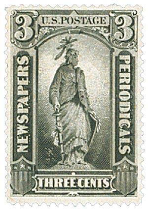 1879 3c blk, soft paper