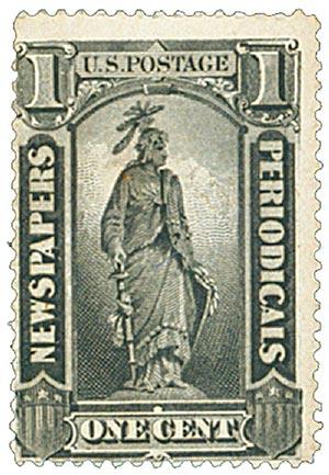1885 1c blk, soft paper