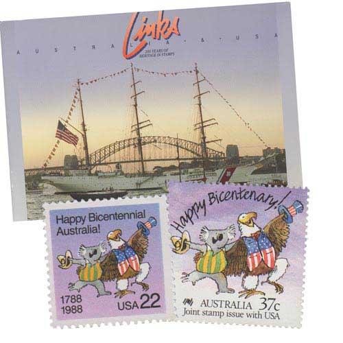 1988 Australia-USA Links Heritage Book