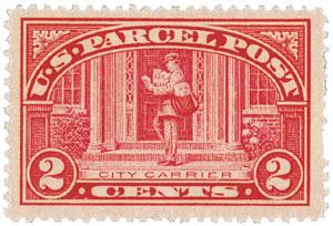 1913 2c Parcel Post Stamp