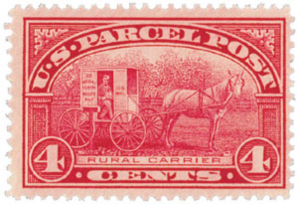 1913 4c Parcel Post Stamp