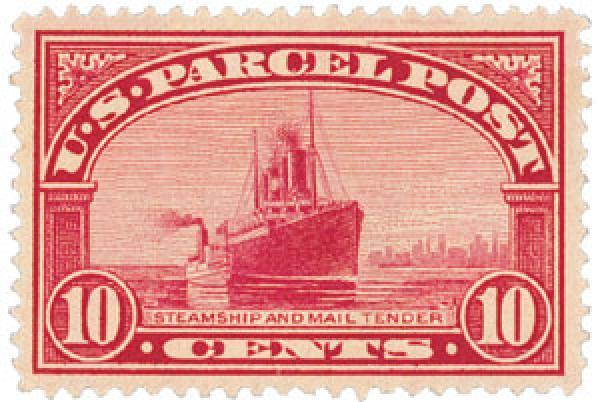 1913 10c Parcel Post Stamp