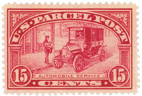 1913 15c Parcel Post Stamp