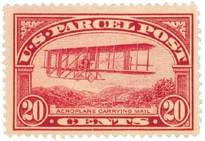 1913 20c Parcel Post Stamp