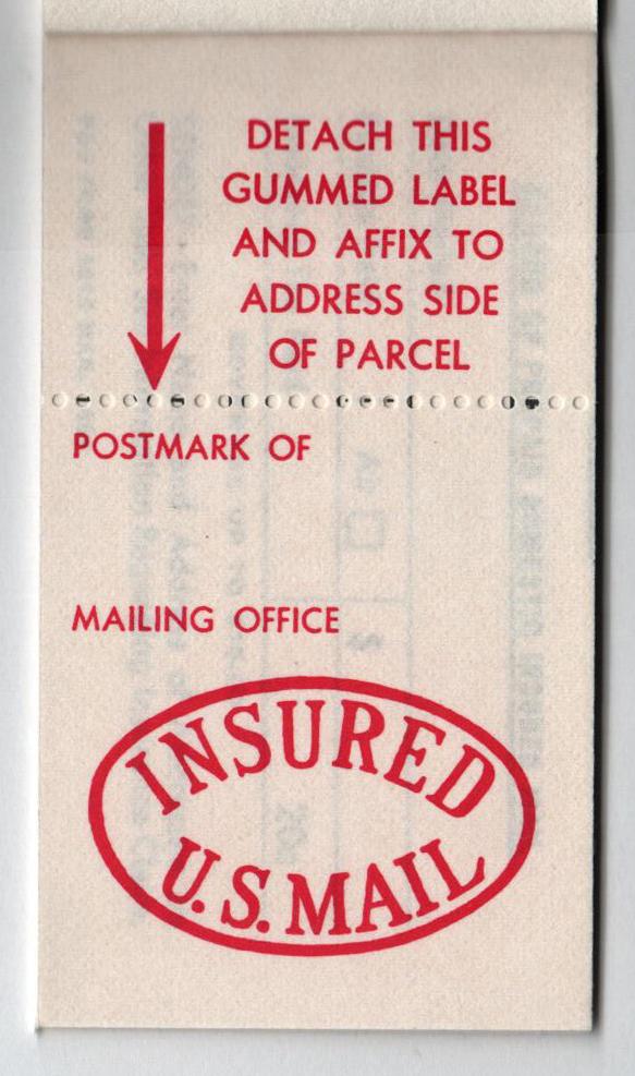 1966 20c Red Postal Insurance stamp