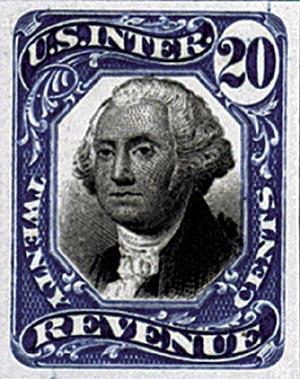 1871-72 20c Blue & Black