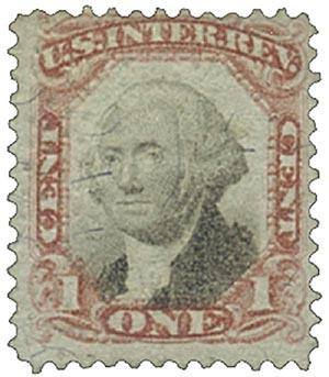 1872 1c cl, blk, revenue