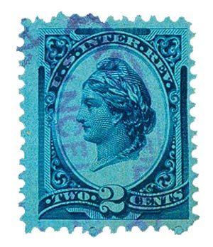 1878 2c bl,liberty, dl wmk