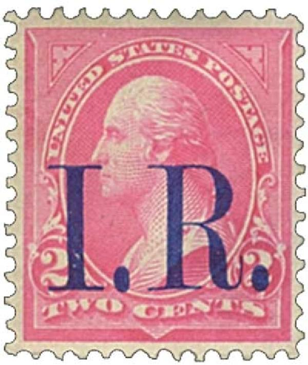 1898 2c pink, (III)bl IR ovprnt,type b