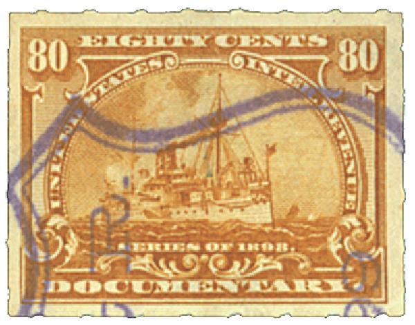 1898 80c bister, wm. 191R