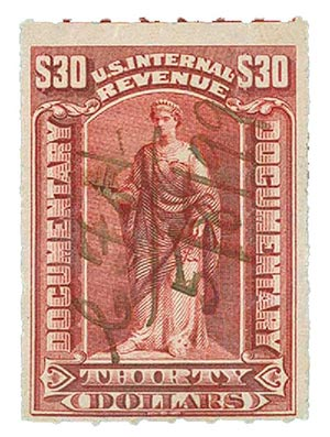 1898 $30 red