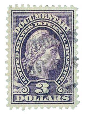 1917-33 $3 vio, rev, engraved