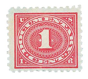 1928-29 1c car ros, offset, perf 10