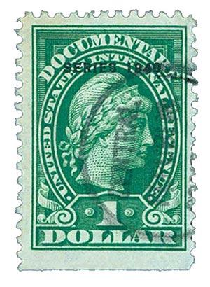 1940 $1 grn, engraved, perf 11