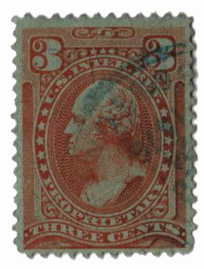 1875-81 3c rog, silk paper