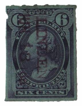 1875-81 6c violet blue