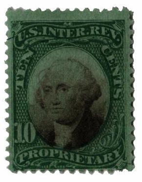 1871-74 10c grn, blk, green paper