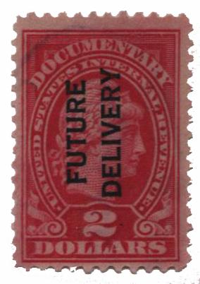 1918-34 $2 ros, fut deliv, type I