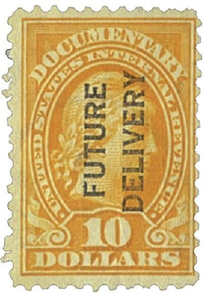 1918-34 $10 org, fut deliv, type I
