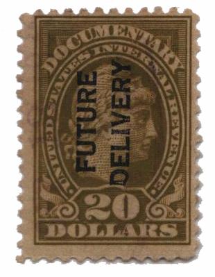 1918-34 $20 ol bis, fut deliv, type I
