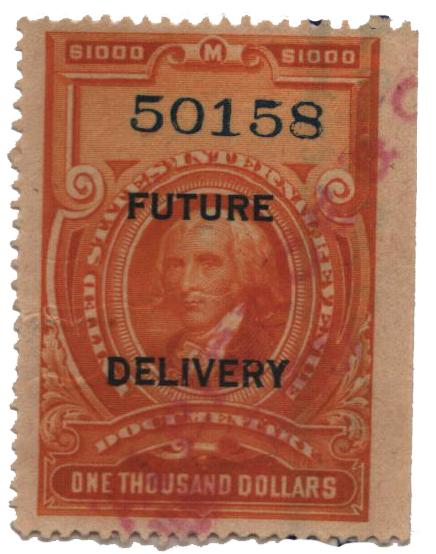 1918-34 $1000 org, fut deliv, type I