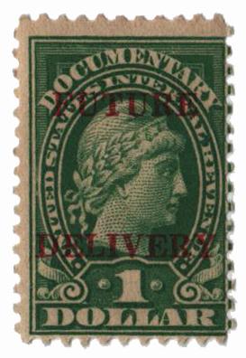 1925-34 $1 grn, fut deliv, type II