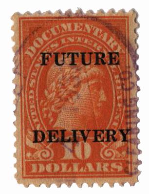 1925-34 $10 org, fut deliv, type II
