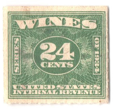 1934-40 24c grn, roul 7,dl wmk,offset
