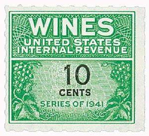 1942 10c grn,blk,roul 7,dl wmk,offset