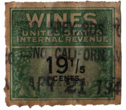 1942 191/5c grn,blk,roul 7,dl wmk,offset