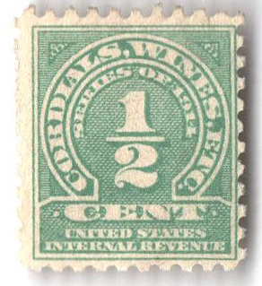 1914 1/2c grn,sl wmk,offset,perf 10