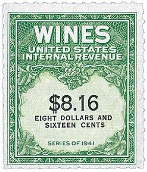 1951-54 $8.16 yel grn, blk, engraved