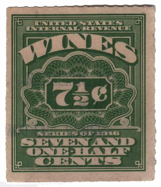 1933 71/2c lt grn,roul 7,dl wmk,offset