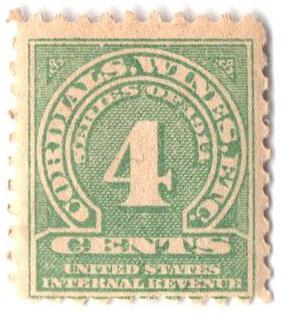 1914 4c grn,sl wmk, offset, perf 10