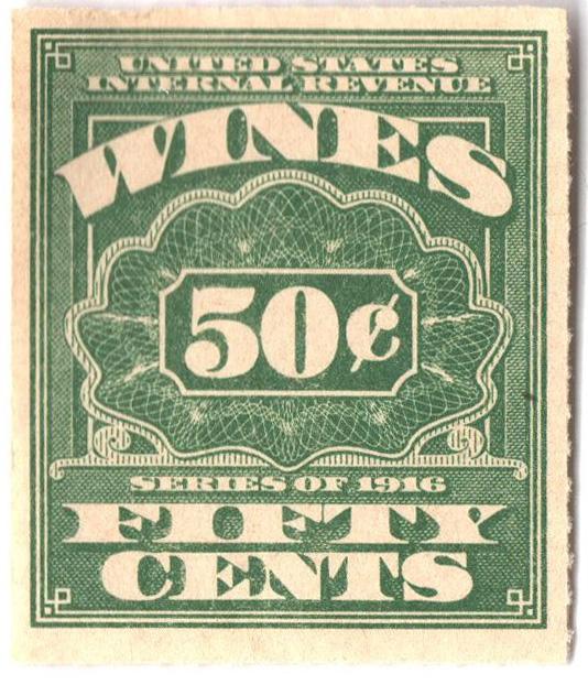 1933 50c lt grn,roul 7,dl wmk, offset