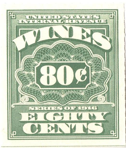 1933 80c lt grn,roul 7,dl wmk,offset
