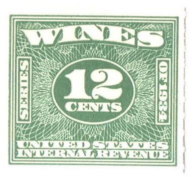 1934-40 12c grn,roul 7, dl wmk,offset