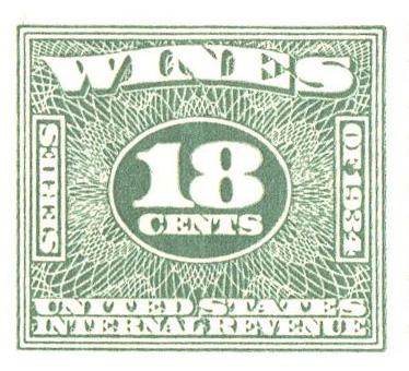 1934-40 18c grn, roul 7,dl wmk,offset