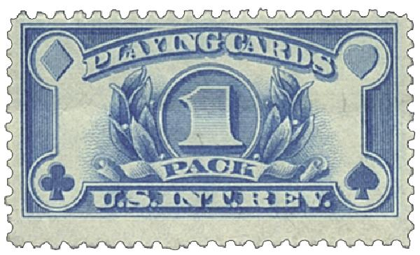 1940 blue,wet printing,perf 11