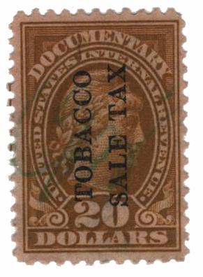 1934 $20 ol bis,engr, dl wmk, perf 11