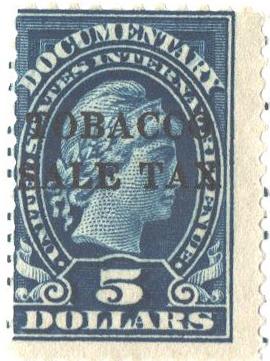 1934 $5 dk bl, engr, dl wmk, perf 11