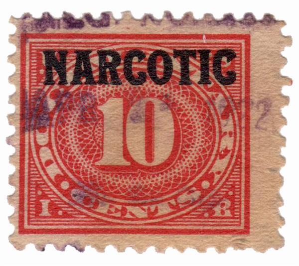 1919 10c car ros,dlwmk,offset,blk ovprnt