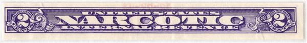 1919-64 2c violet, imperf