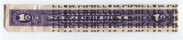 1963-70 1c violet
