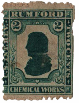 1862 1c Proprietary Medicine Stamp - black, old paper