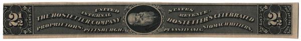 1898-1900 2 1/2c Proprietary Medicine Stamp - black