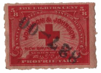 1898-1900 5/8c, Johnson & Johnson