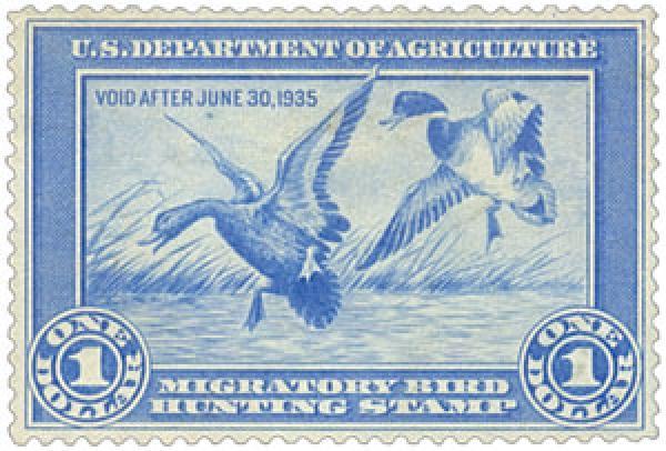 1934 $1.00 Mallards