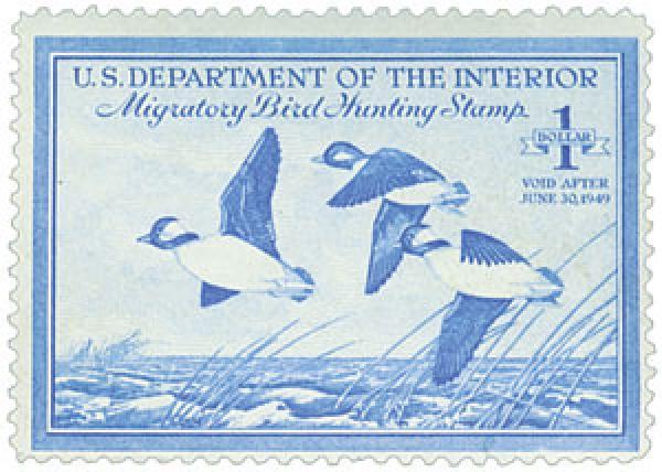 1948 $1.00 Buffleheads
