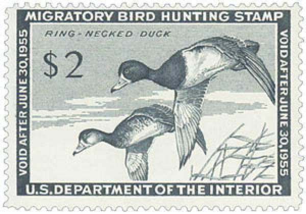 1954 $2.00 Ring-Necked Ducks